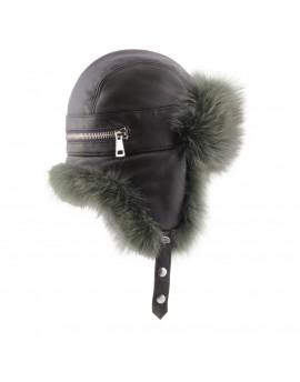 Skórzana czapka Nessa