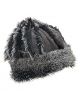 Skórzana czapka Mazepa