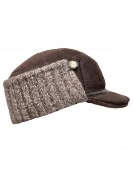 Skórzana czapka Wiktor