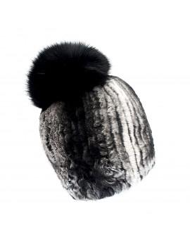 Futrzana czapka Ronda Pom