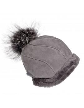Skórzana czapka Salem