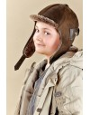 Skórzana czapka Easy Rider Kid