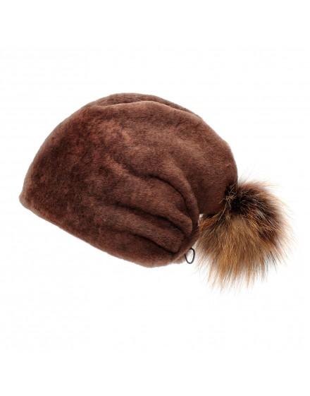 Skórzana czapka Elm Kid