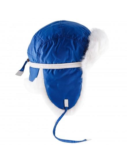 Tekstylna czapka Yukon Rabbit Kid- niebieski