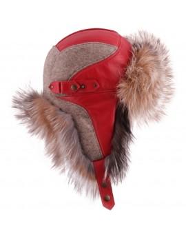 Wełniana czapka Cortina Wool Fox