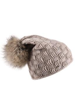 Dzianinowa czapka Vilma Pom