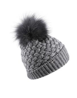 Dzianinowa czapka Nicol