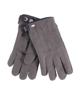 Skórzane rękawice Matt- czarny