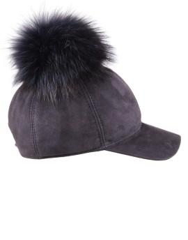 Skórzana czapka Amber BIs