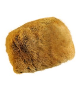 Futrzana czapka Tatra rabbit- naturalny