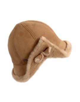 Skórzana czapka Liza