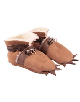 Pantofelki skórzane Teddy