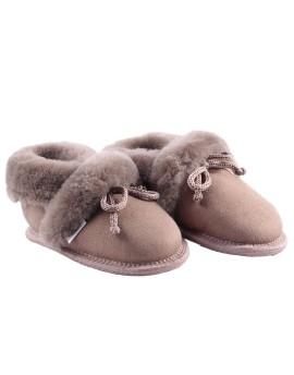Pantofelki skórzane Saga Bis