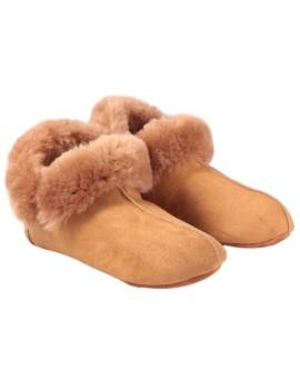 Pantofle skórzane Montana Kid