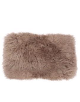 Poduszka ze skóry owczej- duża (brązowy)