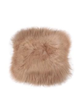 Poduszka ze skóry Islanda- mała (brązowy)