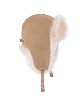 Wełniana czapka Sandy - beż
