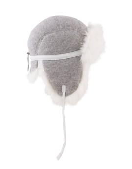 Wełniana czapka Yukon Rabbit- szary