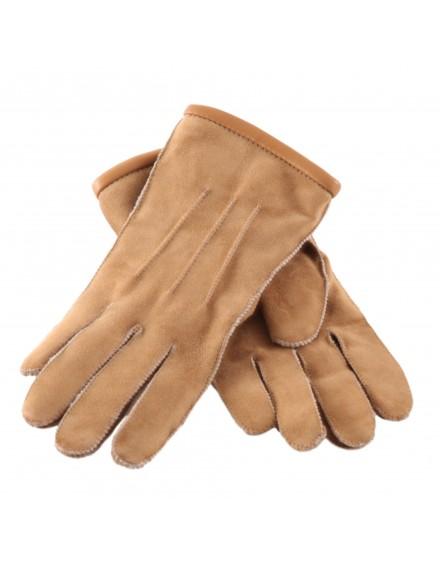 Rękawice skórzane Davos- Beż