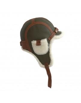 Skórzana czapka Olaf Bis