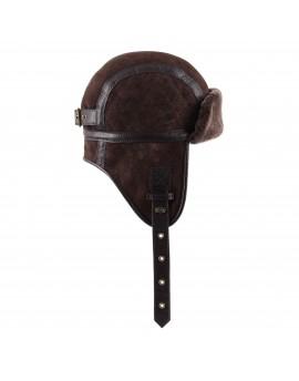 Skórzana czapka Melton