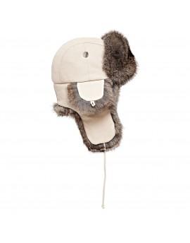 Skórzana czapka Waldek Rabbit Kid